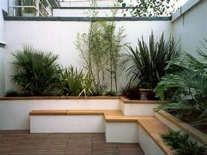 Plantes D Extérieur Pour Terrasse : am nager une terrasse contemporaine ~ Dailycaller-alerts.com Idées de Décoration