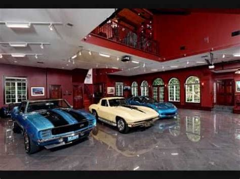 Dream Garages! Youtube