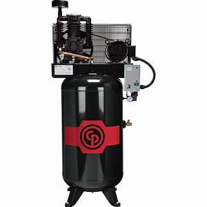 Chicago Pneumatic Reciprocating Air Compressor  U2014 5 Hp  80