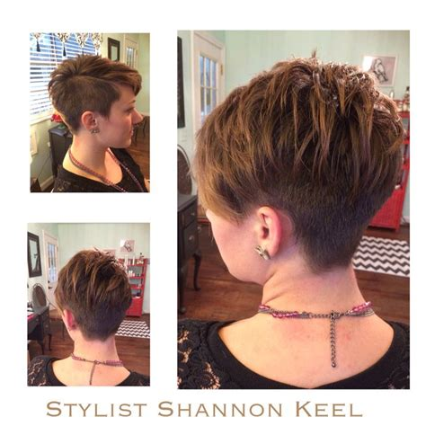 Short pixie under cut   My Hair color and hairstyles