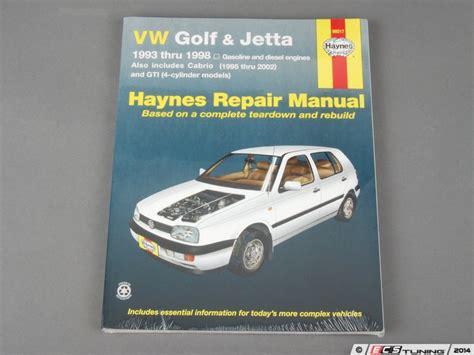 vw golf gti jetta haynes repair manual for 1993 thru 1998 and vw cabrio 1995 thru 2002 with haynes 96017 haynes repair manual vw mkiii golf jetta