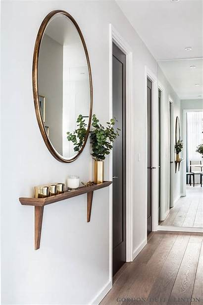Mirror Decoration Wall Hallway Mirrored Illusion Length