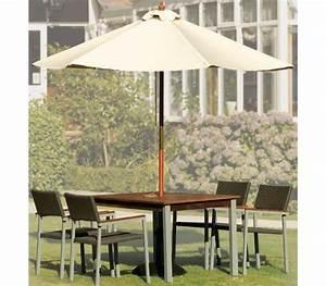Sonnenschirm 3 Meter Durchmesser : bolero sonnenschirm rund mit riemenscheiben mechanismus farbe ecru 3 meter durchmesser ~ Frokenaadalensverden.com Haus und Dekorationen