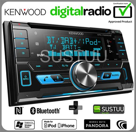 2 din radio new kenwood dpx 7000dab car stereo 2din radio cd aux usb