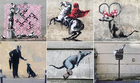 Banksy 'attacks France's crackdown on migrants' by ...