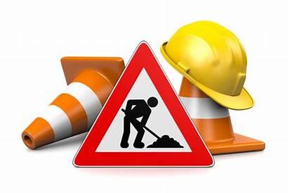 Construction Under Parking Sign Update Site Traffic