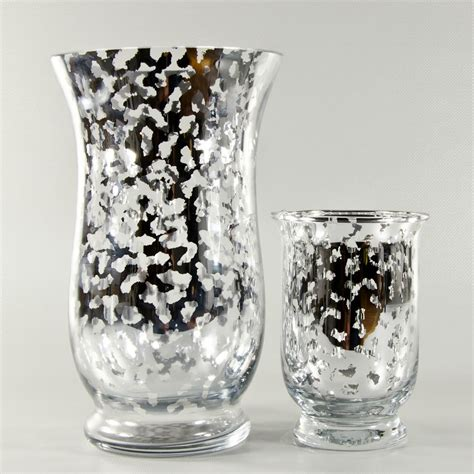 Small Floral Vases by Silver Mercury Glass Garden Vases Small Wholesale