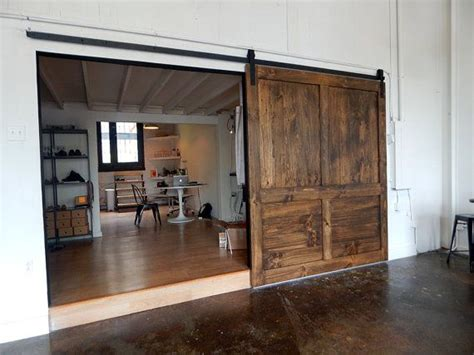 Large Barn Doors by Theater Fam Room Or One Large Door If Going With A Wide