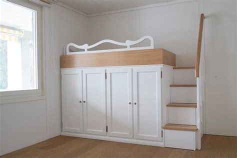 Da Letto Su Soppalco - letti a soppalco letti su misura in legno legnoeoltre