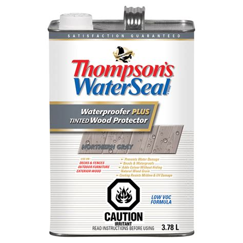 thompsons waterseal waterproofer tinted wood protector