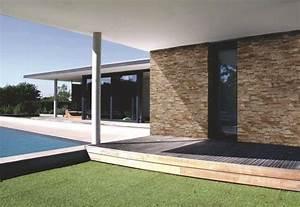deco outdoor quel habillage pour des murs exterieurs With superb photo amenagement terrasse exterieur 12 parement mur interieur