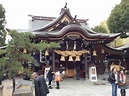 Kushida Shrine, Fukuoka, Japan - Loved this shrine. One of ...