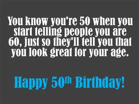 50th Birthday Quotes For Him Quotesgram