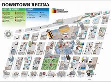 VIEW MAP Regina Downtown