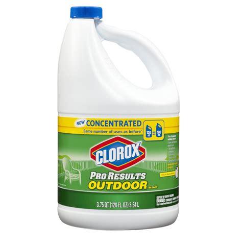 clorox outdoor 120oz