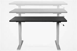 Manual Height Adjustable Desks Allow Smooth Adjustments