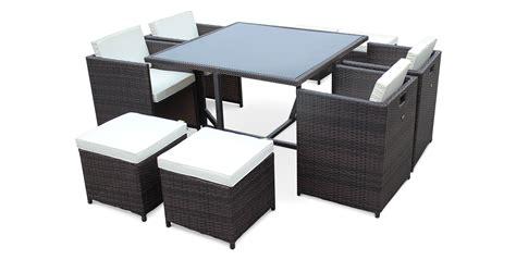 Salon de jardin 4 fauteuils - Les cabanes de jardin abri de jardin et tobbogan