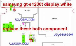 Samsung E1200 Lcd Display Ic Solution Jumper Problem Ways