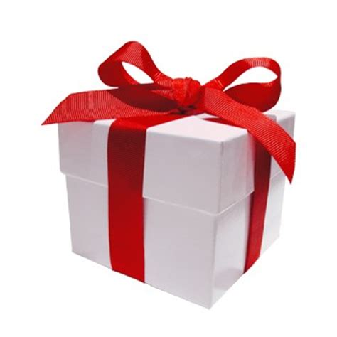 bow earrings gift box with ribbon