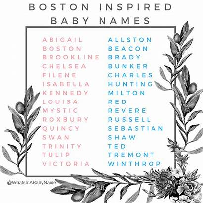 Names Instagram Boston Boys Inspired Boy Massachusetts