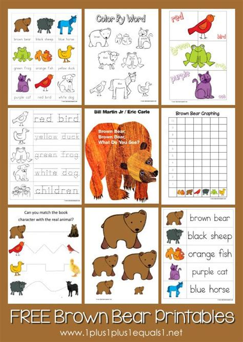 free brown brown printables from www 818   ecf5cc27bae3e9a686ce4365849c3802