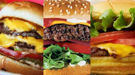 cuisine fast food top 10 fast food hamburgers