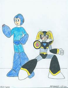 Megaman And Bass By Kronos2501 On Deviantart