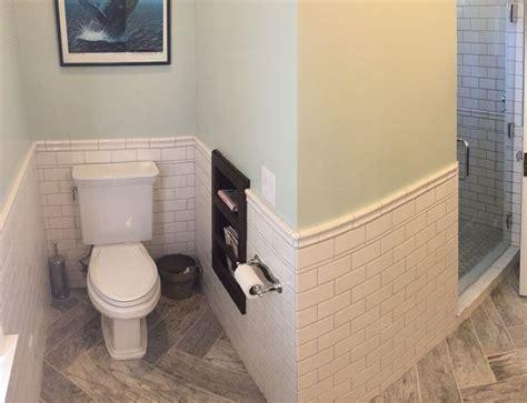 bathroom floor montagna dapple gray 6 x 24 inch