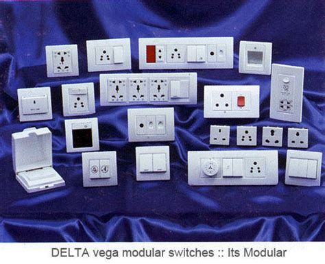 Domestic Wiring Accessories Modular Switches Wholesaler