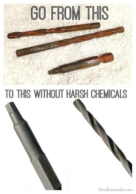 tools rust remove rusty clean diy cleaning removing vinegar soak know metal removal hacks ingredient save put garage chrome monsters
