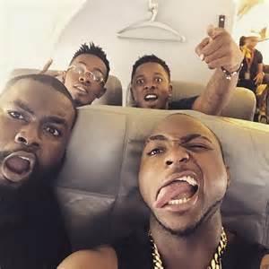House Baby Shower by 1 Selfie 3stars Davido Patoranking Amp Runtown In New