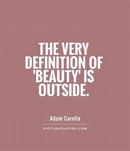 Beauty Quotes |... Outside Beauty Quotes