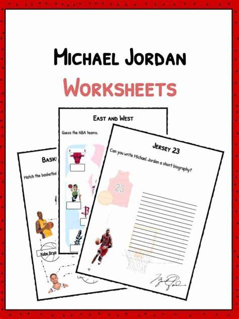 michael jordan facts biography information worksheets