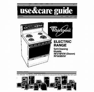 Rf365bxw Manuals