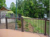 nice aluminum deck railing Inspiring Porch Railing Ideas To Add Style | Home Interior ...