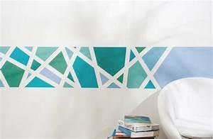 Wand Farbig Streichen Ideen : wand muster ideen ~ Lizthompson.info Haus und Dekorationen