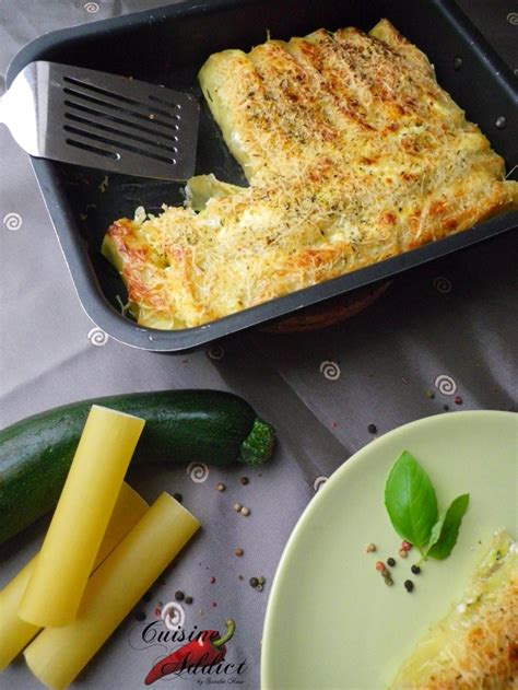 cuisine addic cannelloni aux légumes recettes lasagne