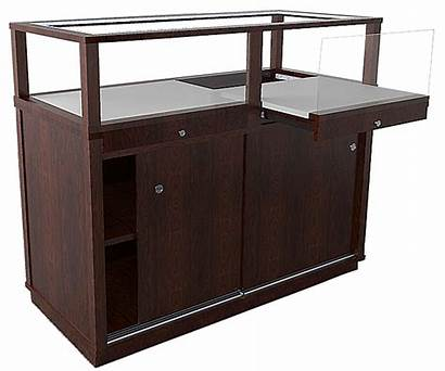 Display Jewelry Cases Case Retail Pull Horizontal