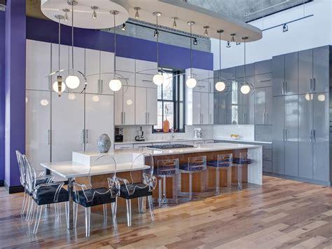 counter height kitchen island dining table modern kitchen window treatments hgtv pictures ideas hgtv