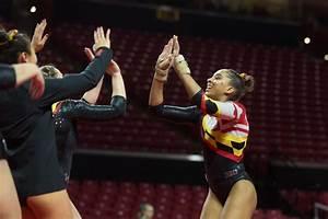 Audrey Barber and Alecia Farina lead Maryland gymnastics ...