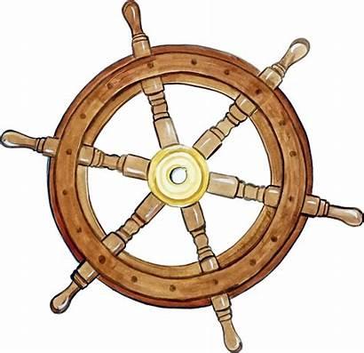 Wheel Ship Boat Nautical Steering Pirate Decal