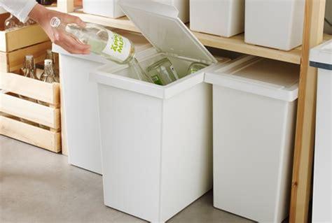poubelle bureau ikea tri des déchets ikea