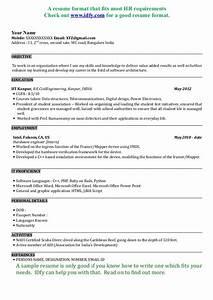Fresher Resume Sample For Software Engineer 5347 31