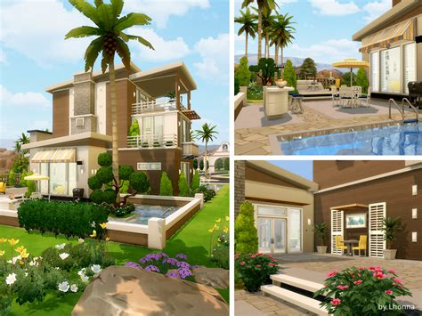 The sims 4 altara modern living residential lot designed by chemy available at the sims resource download a modern family home fibe bedroom mansion from simming with mary • sims 4 downloads. Summer Dream House | Sims 4 Houses