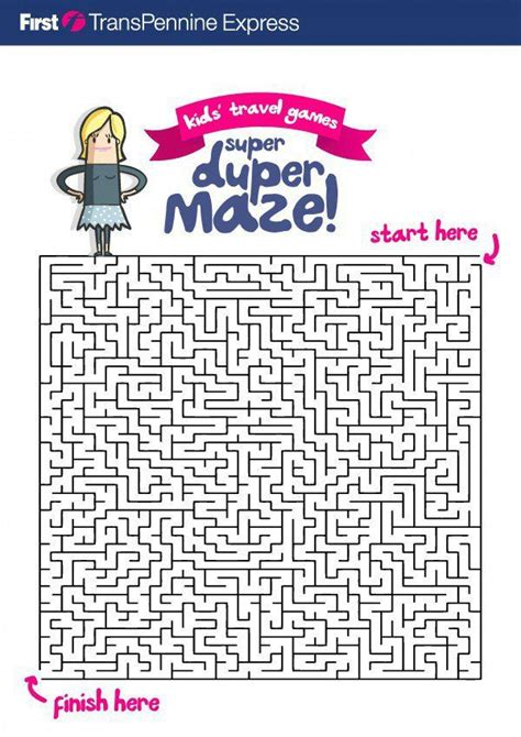 printable travel games for kids activities maze and the o jays
