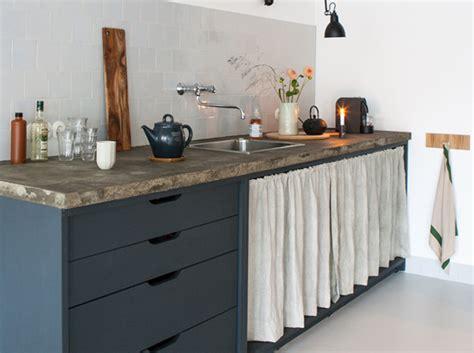 rideaux meuble cuisine pariez sur la déco récup en cuisine décoration