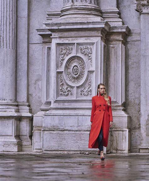 Hannah Ferguson For Harpers Bazaar Magazine December