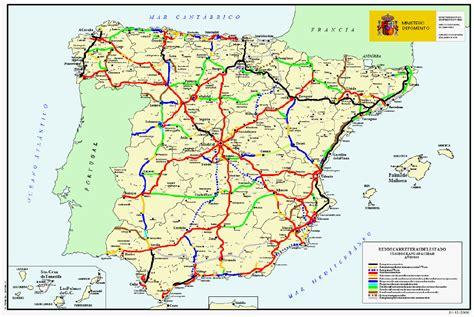 Carte Peage Espagne Portugal by Carte Autoroute Espagne Carte 2018