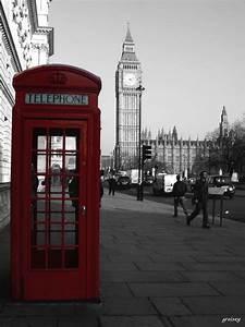 London Snow Telephone Booth
