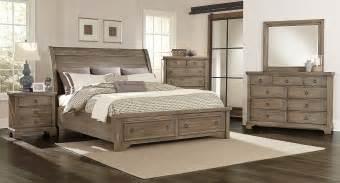 Bassett Upholstered Beds by Whiskey Barrel Storage Bedroom Set Rustic Gray Vaughan